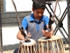 Rahil on tabla