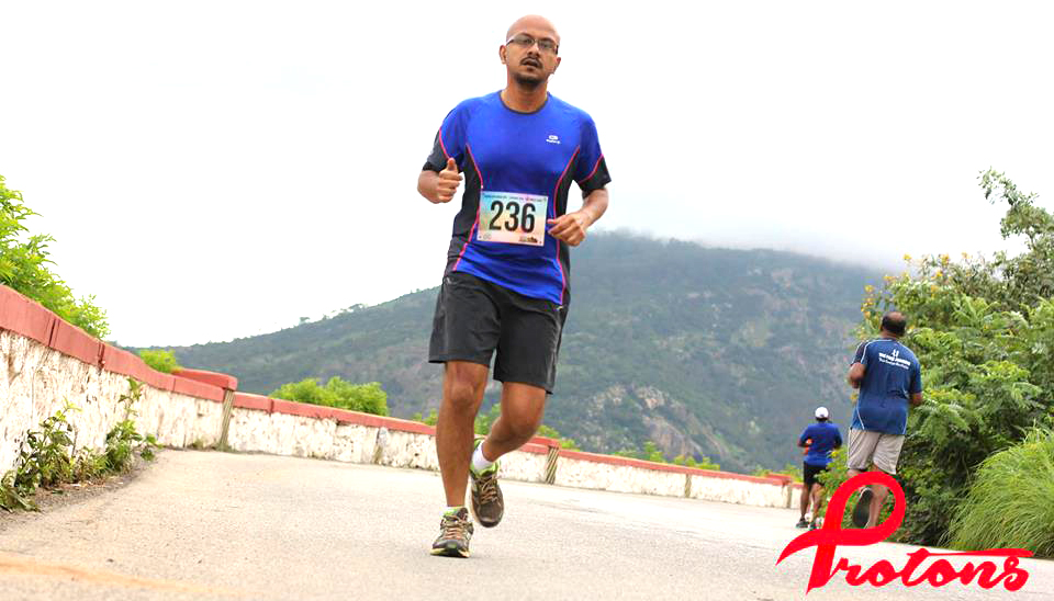 At a recent run up Nandi Hills