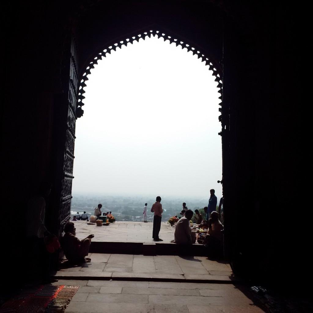 View of the Buland Darwaza